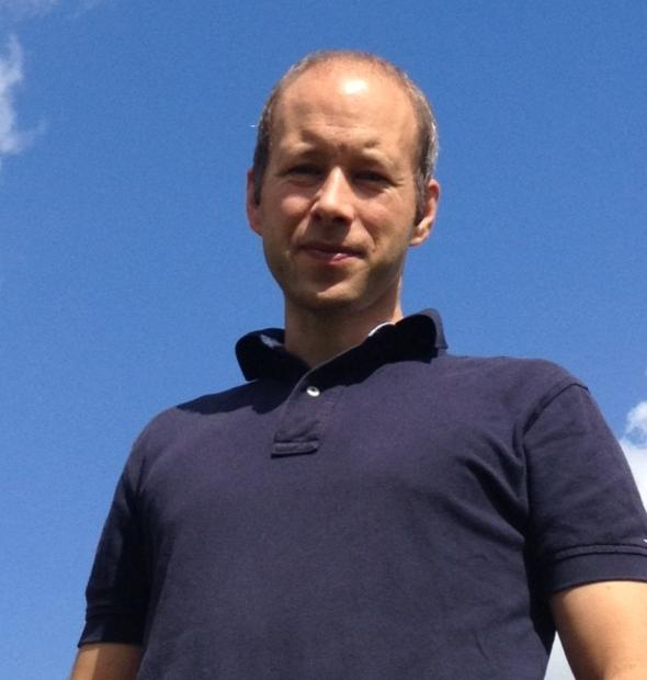 Thomas Nowak bei viel Sonnenschein