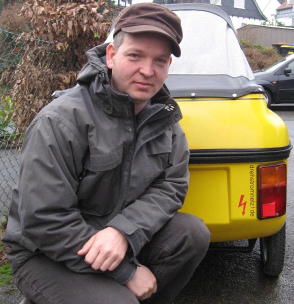Holger Keser vor seinem CityEl