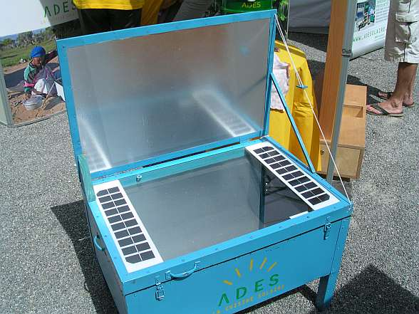 Photovoltaik-Boxkocher